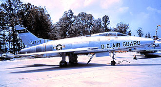113th Wing - North American F-100C 53-1727 about 1965