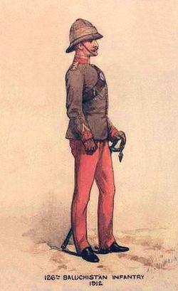 126th Baluchistan Inf 1912