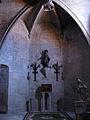 132 Església de Santa Maria, absis dret, imatge de Sant Pacià.jpg