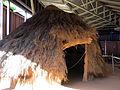 137 Parc arqueològic de les Mines de Gavà, model de cabana neolítica.JPG
