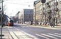 145R04170386 Schottenring – Börsegasse, Blick Richtung Schottentor, Strassenbahn Linie D, Typ E1.jpg