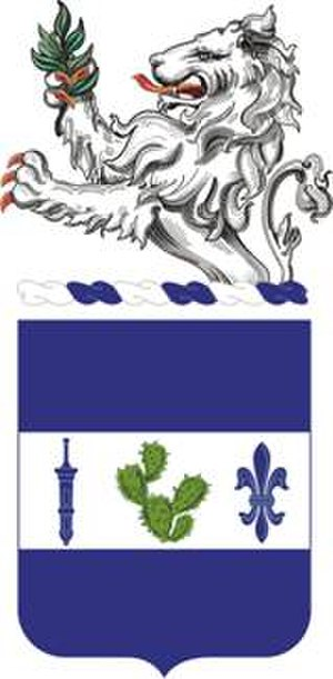 Indiana National Guard - Image: 151Infantry Regimentt Coat Of Arms