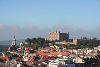 Bratislava Foothills - Bratislava Castle hill