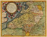 1593 Germania Inferior de Jode