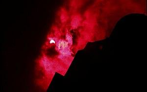 Solar eclipse of January 15, 2010 - Image: 15 jan 10 eclipse srilanka jaffna library