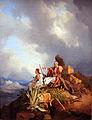 1829 Hess Palikaren bei Athen anagoria.JPG