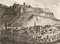 1845, Historia de Cabrera y de la guerra civil en Aragón, Valencia y Murcia, Vista de Castellote (cropped).jpg