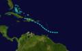 1855 Atlantic tropical storm 4 track.png