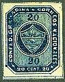 1860 20c Confed.Granadina unused Sc12 Mi8.jpg