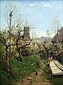 1872 Buchholz Fruehling auf dem Dorfe anagoria.JPG