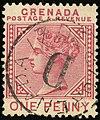 1887 1d Grenada circle D Yv23 SG40.jpg