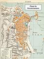 1888 Plan of Algiers, Algeria Place du Gouvernement region (actual Martyrs Place).jpg