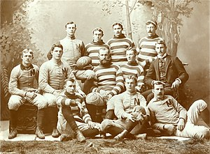 1889 Michigan Wolverines football team - Image: 1889 Michigan Wolverines football team