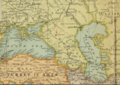 1904 Stavropol detail Map of the Far East by JG Bartholomew BPL 12182.png