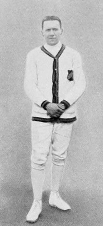 Paul Anspach - Paul Anspach at the 1912 Olympics