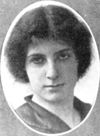 Golda Meir - Golda Mabovitch in Milwaukee, Wisconsin, 1914