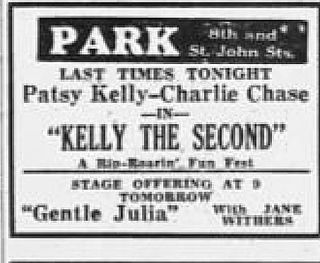<i>Kelly the Second</i> 1936 film by Gus Meins