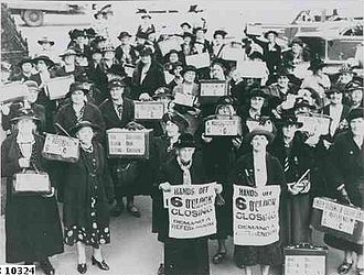 Six o'clock swill - Opposition in South Australia to changes to hotel hours prior to referendum in 1938
