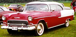 "1955 Chevrolet - Bel Air Hardtop or ""Sport coupe"""