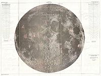 1961 U.S.G.S. Lunar Ray Map of the Moon (wall map) - landmark Lunar map^ - Geographicus - LunarRays-usgs-1961.jpg