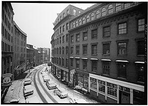 Cornhill, Boston - Cornhill, Boston, 1962