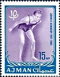 1964 stamp of Ajman JFK 2a.jpg