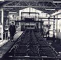 1969 Fabrica de geamuri Scaieni. Linia de geamuri laminate.JPG