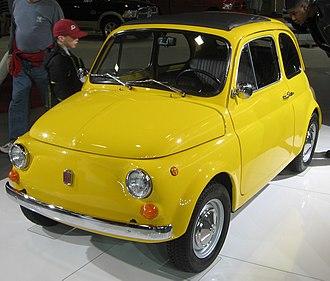 Fiat 500 - 1970 Fiat 500
