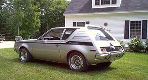Subcompact car - 1971 AMC Gremlin X