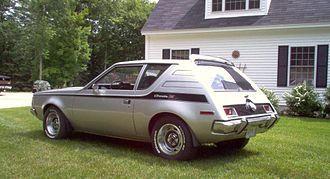 Subcompact car - 1971 AMC Gremlin X