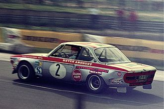 John Fitzpatrick (racing driver) - The BMW that Fitzpatrick co-drove to win the '72 Grosser Preis der Tourenwagen