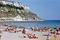 1972-08 Kawarna, Strandbad und Steilküste.jpg