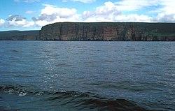 Hoy vom Pentland Firth aus gesehen