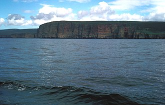 Pentland Firth - Looking across the waters of the Pentland Firth to the island of Hoy in Orkney