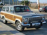 1991 Jeep Grand Wagoneer.