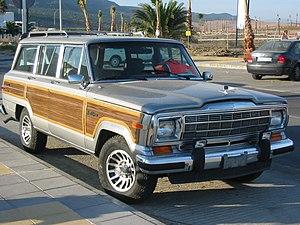 Jeep SJ - A 1991 Jeep Grand Wagoneer