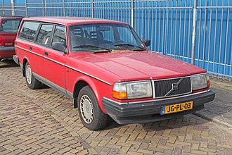 Volvo 200 Series - Volvo 240 GL estate