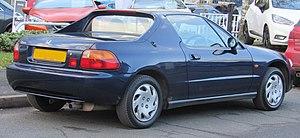 Honda CR-X del Sol - Rear