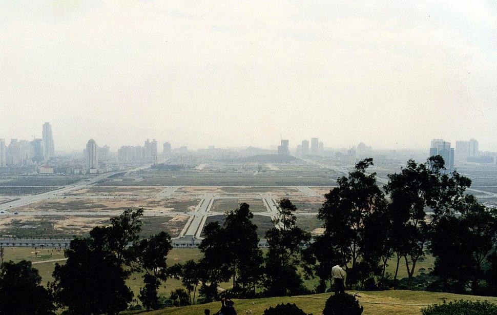 1998年春节莲花山顶 Shenzhen 1998 - panoramio