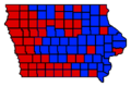 1998 Iowa Governor Election Results.png