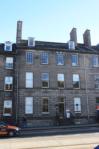 John Abercrombie (physician) - 19 York Place, Edinburgh