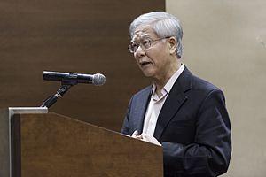 Chan Sek Keong - Chan giving a speech in 2012