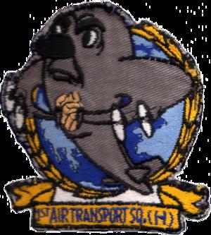 1st Airlift Squadron - Image: 1st Air Transport Squadron MATS Emblem