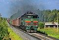 2ТЭ10М-0870, Россия, Архангельская область, станция Обозерская (Trainpix 184374).jpg