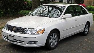 Toyota Avalon - 2000–2002 Toyota Avalon (US)