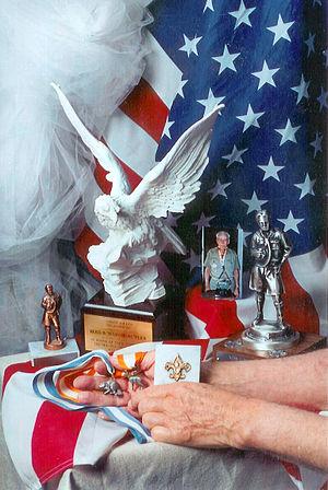 Ross Erin Butler Sr. - Butler received Boy Scout's highest awards, Silver Beaver, Silver Antelope and other Awards