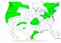 2002-12-27 24-hr Precipitation Map NOAA.png