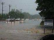2005-06-07 Storm drain overflow in Durham