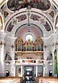 20050903090DR Toblach (Bozen) Pfarrkirche Johann Baptist zur Orgel.jpg