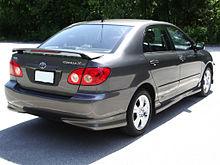 2004 toyota corolla xrs